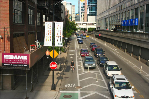 Chicago-bike-lanes