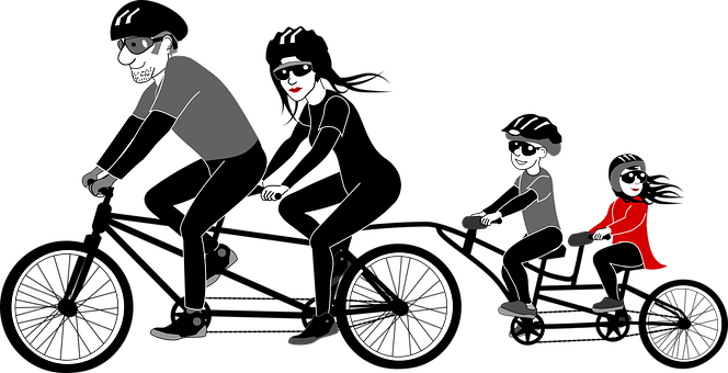 tandem-bike-riding
