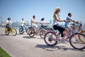 group-bike-riding