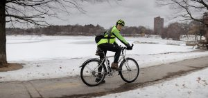 Winter Bike Riding