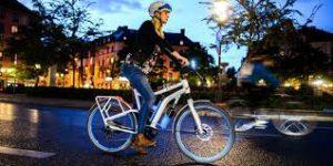 Hydrogen Bike Rider