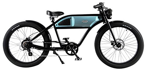 T4B Black & Blue Electric Bike