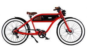 T4B Red Electric Bike